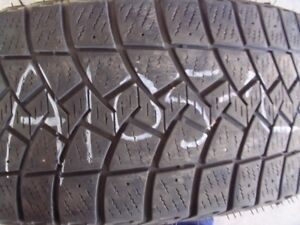 Two Goodyear Ultra Grip Ice 265/70R17 Used Tires