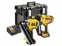 DeWalt DCK264P2 18v XR Li-Ion Cordless Brushless Nailer Pack -2x 5.0Ah Batteries