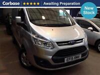 2015 FORD TRANSIT CUSTOM 2.2 TDCi 125ps 270 L1 FWD Low Roof Limited Van