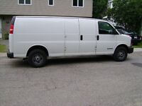 2005 GMC Savana 2500 allongee Fourgonnette, fourgon