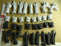 harry potter chess set pieces -parts only no board included