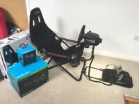 G920 Xbox/PC Racing Wheel, Pedals, Gear Shifter and Playseat