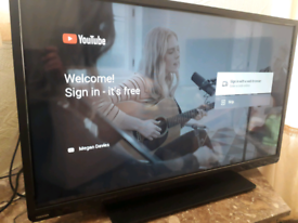 Toshiba 40 inch Smart TV.