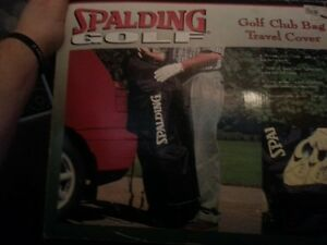 SPALDING GOLF BAG TRAVEL COVER -BRAND NEW