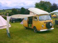 VW T2 Campervan Westfailia tax exempt