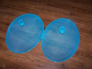 Plate covers (2) for sale