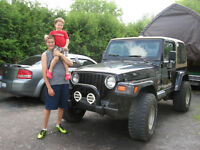 1997 JEEP WRANGLER SAHARA 4X4 ,4.0 LTR WITH ONLY 12,564.0 KLMS