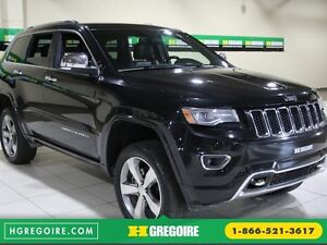2014 Jeep Grand Cherokee Overland 4WD AUTO CUIR TOIT PANO MAGS N