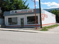 MOTORCYCLE SHOP FOR SALE OR LEASE