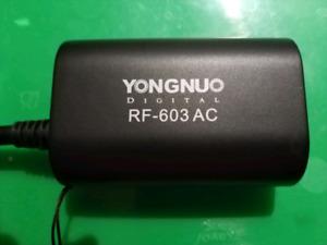 Yongnuo RF 603AC pour strobe/Flash