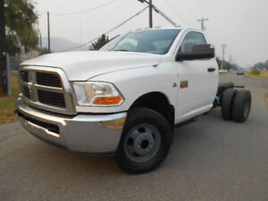 2012 Dodge Power Ram 3500 Chassi TOW TRUCK BOX FLAT BED ECT