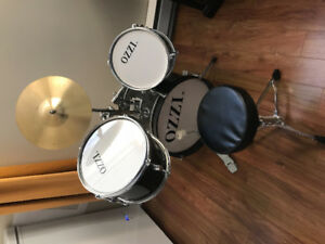 drum set for kids barely used