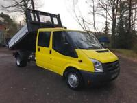 2010 60 Ford Transit Double Cab Tipper 115 T350
