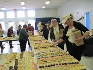 28th Annual Christmas Cookie Walk, Craft Fair, Silent Auction, a