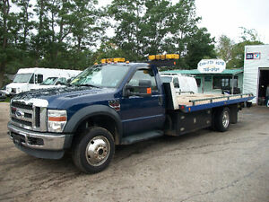 2008 FORD F550 4x4 TOW DECK TRUCK