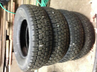 4    175/70R13 Winter tires Nordic Wintertrack  with really good