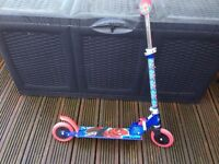 Spider-Man folding scooter