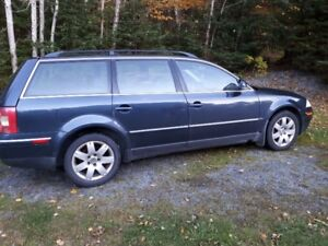 2005 Passat Wagon Plus spare TDI engine