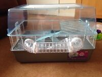 Hamster home with dwarf hamster accessories .
