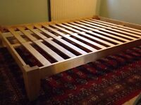 Futon company low king bed frame wooden