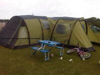 Tent: Vango Airbeam Infinity 600