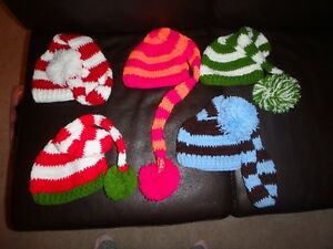 NEW - Knit Hats and photography props Size Newborn - 12 months Kawartha Lakes Peterborough Area image 5