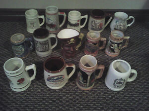 Beer Mugs and glasses.
