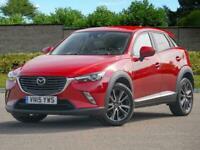 15 Mazda CX-3 1.5d 105ps SKYACTIV-D Sport Nav BOSE HUD PX Welcome