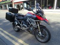 2014/14 BMW R1200GS in Red With Low Mileage plus extras.