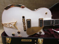 Excellent 2014 Gretsch White Penguin Guitar with OHSC and CoA
