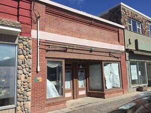 COMMERCIAL BUILDING IN BLAIRMORE, CROWSNEST PASS