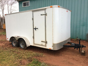 2012 16 ft x 7.5 ft Enclosed trailer