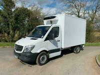 2014 Mercedes-Benz Sprinter 313cdi mwb fridge box 85000 miles CHASSIS CAB Diesel
