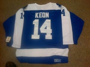 #14 DAVE KEON TORONTO MAPLE LEAFS RETRO JERSEY SIZE LARGE