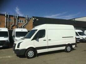 2010 60 VOLKSWAGEN CRAFTER 2.5TDI CR35 MWB H/ROOF BLUE 136BHP. CLEAN EXAMPLE. PX