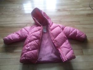 Pink Old Navy Coat 3T