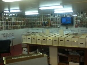 COMICS FOR SALE EVERY SATURDAY 12 TO 4