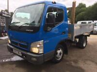 Mitsubishi Canter FUSO 3.0 3C13-25 3.5T DRW,TIPPER.VERY LOW MILES,NO VAT
