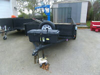 tandum trailer 12 ft long ^ft wide