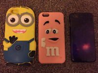 3 iPhone 6/ 6s cases, £3 for all.