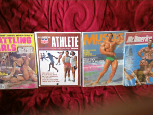 Muscle Building Magazines Vintage (1960's)