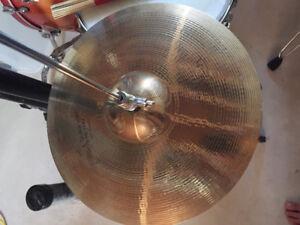 4 Used Cymbals (Ride,Hi-Hat,Crash,Splash (Excluding Stands)