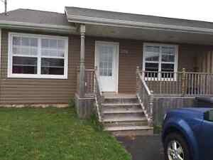 Large newer 3 bedroom duplex available Nov 1