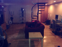 6 1/2- 2 floors- finished basement- yard-in front of park
