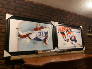 Autographed pictures Cary price and more