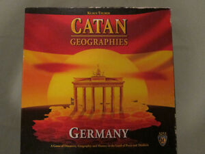 Catan Geographies: Germany - Mayfair Games/KOSMOS English Ed.
