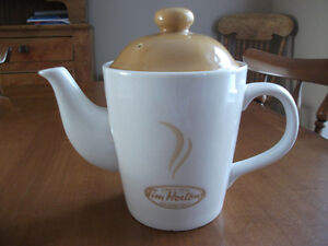 TIM HORTON'S     TEA POT