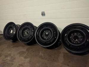 15x6.5 Winter Steel Rims 5x114.3 - 5x115