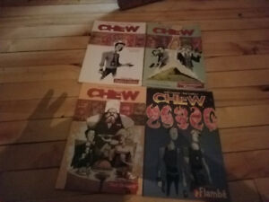 Comics chew, y last man walking dead and more