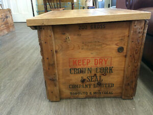 CROWN CORK & SEAL CRATE